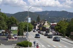 Ville d'Allemand de Leavenworth Images libres de droits