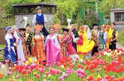 Ville d'Almaty Images libres de droits