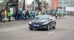 Ville d'Almaty Photos stock