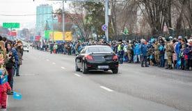 Ville d'Almaty Photographie stock libre de droits