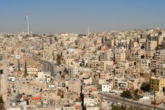 Ville d'Amman. Images stock