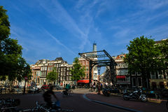 Ville d'Amsterdam Image stock