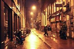 Ville d'Amsterdam, Pays-Bas - voyage dans le concept de l'Europe photographie stock libre de droits