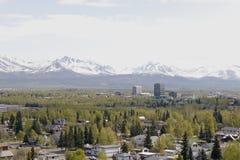 Ville d'Anchorage Image libre de droits