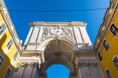 Ville d'Arco DA Rua Augusta Architecture Monument Historic Landmark photo stock