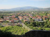 Ville d'Arezzo Photo stock