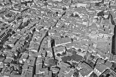 Ville d'Arezzo en Toscane - en Italie Images stock