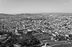 Ville d'Arezzo en Toscane - en Italie Image stock