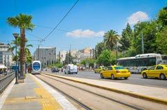 Ville d'Athènes, Grèce Photos stock