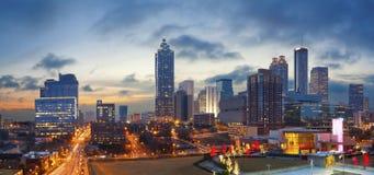 Ville d'Atlanta. Photos libres de droits