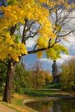 ville d'automne images libres de droits