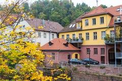 Ville d'Autumn Calw en Allemagne photo libre de droits
