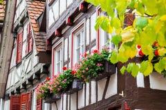 Ville d'Autumn Calw en Allemagne Photographie stock libre de droits