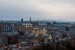 Ville d'Edimbourg, Ecosse, Royaume-Uni photo stock