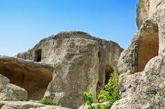 Ville d'Eski-Kermen Photographie stock libre de droits