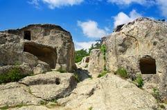 Ville d'Eski-Kermen Image stock