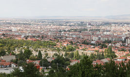 Ville d'Eskisehir en Turquie Photos stock