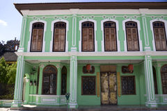 ville d'héritage de george de construction Photographie stock libre de droits