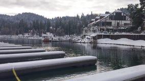 Ville d'hiver Image stock