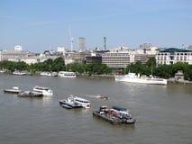 Ville d'horizon de Londres Photos stock