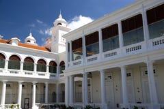 ville d'héritage de george de construction Images libres de droits