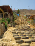 Ville d'hutte à Lima Photos libres de droits