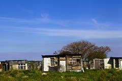Ville d'hutte. Photo stock