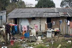 Ville d'hutte Image libre de droits