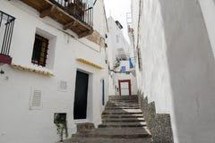 Ville d'Ibiza Image stock