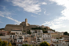 Ville d'Ibiza, Espagne Image stock