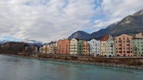 Ville d'Innsbruck Image libre de droits
