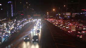 ville d'Istanbul de voyage, décembre 2016, la Turquie banque de vidéos