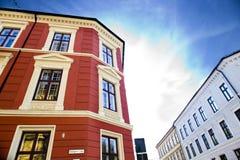 Ville d'Oslo construisant 4 Photo libre de droits