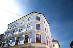 Ville d'Oslo construisant 4 Photos libres de droits