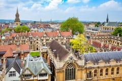 Ville d'Oxford l'angleterre Photos libres de droits