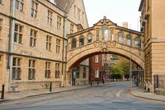 Ville d'Oxford. LE R-U Image libre de droits