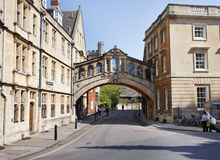Ville d'université d'Oxford en Angleterre Image stock