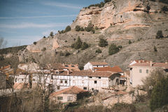 Ville d'Ura, Burgos Image libre de droits
