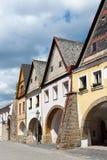 Ville d'Ustek, République Tchèque, l'Europe Photographie stock