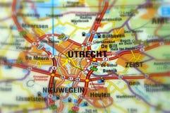 Ville d'Utrecht - les Pays-Bas photographie stock libre de droits