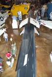 Ville Dallas de musée de vol de frontières de visite Photos stock