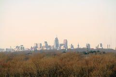 Ville dans la distance Photographie stock libre de droits