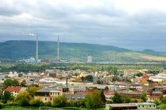 Ville dans la République Tchèque Photo libre de droits