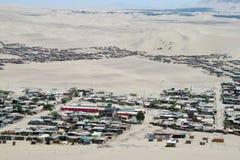Ville dans le désert Images stock