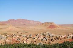 Ville dans le désert Photographie stock libre de droits