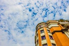 Ville dans le nuage Photo stock