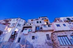 Ville de ¹ de CefalÃ, Italie image libre de droits