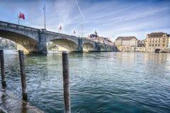 Ville de Bâle, Suisse Image stock