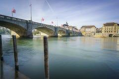 Ville de Bâle, Suisse Image libre de droits