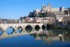 Ville de Béziers Royalty Free Stock Photos
